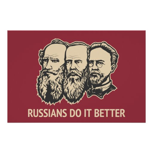 Russians Do It Better Poster