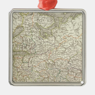 Russie d'Europe - Russia and Europe Christmas Ornament