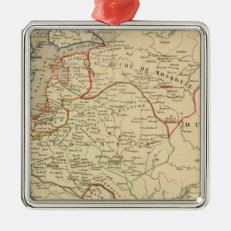 Russie, Pologne, Suede, Norwege, Danemarck Christmas Ornament