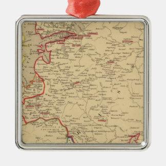 Russie, Pologne, Suede, Norwege, Danemarck en 1840 Christmas Ornament