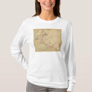 Russie, Pologne, Suede, Norwege, Danemarck en 1840 T-Shirt