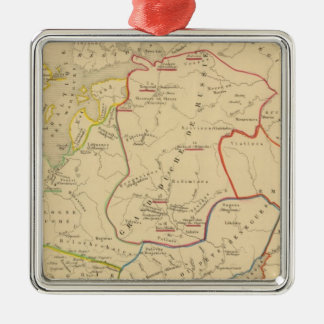 Russie, Suede, Norwege 2 Christmas Ornament
