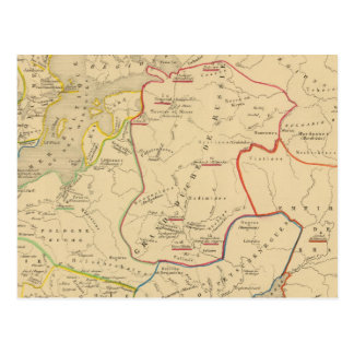 Russie, Suede, Norwege 2 Postcard