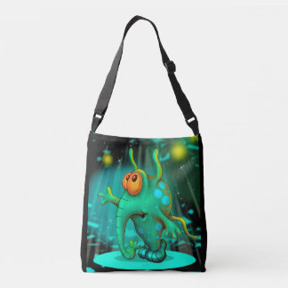 RUSSS ALIEN All-Over-Print Cross Body Bag MEDIUM 2