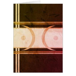 """""""Rust"""" Art Card"""
