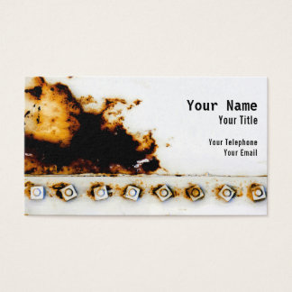 Rust Art - Cool Fun Unique Business Card