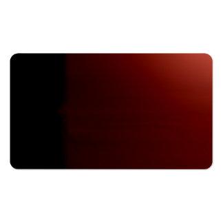 Rust Black Unusual Visual Identifiers Biz Card Pack Of Standard Business Cards
