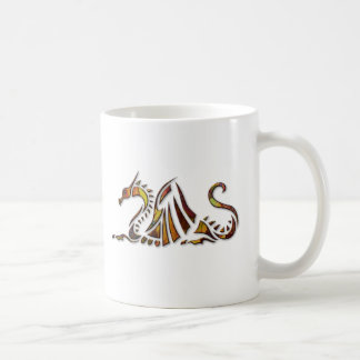 Rust Dragon Coffee Mug