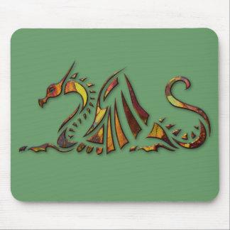 Rust Dragon Mouse Mat