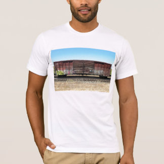Rust Freight (w/ doors) Train w/ Graffiti T-Shirt