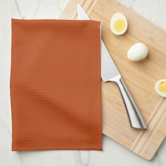 Rust Kitchen Towel