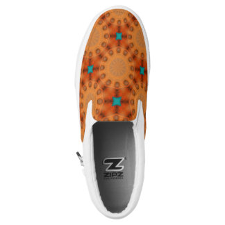 Rust-Mandala, Colors of Rust 02.3 Slip-On Shoes