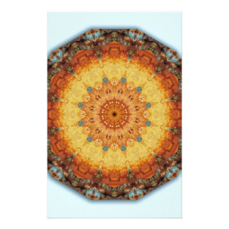 Rust-Mandala, Colors of Rust Customised Stationery