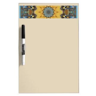 Rust-Mandala - ROSTart Dry Erase Boards