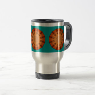 Rust-Mandala - ROSTart Travel Mug