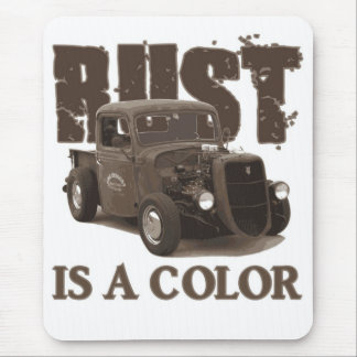 Rust Mouse Mat
