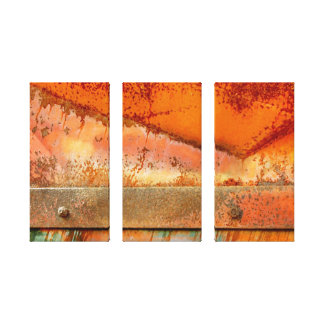 Rust on Rust Stretched Canvas Prints