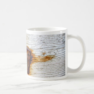 Rust on Wood Coffee Mug