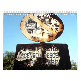 Rust & Rusty Calendars