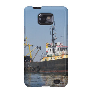Rust Streaked Fishing Boat Samsung Galaxy S2 Case