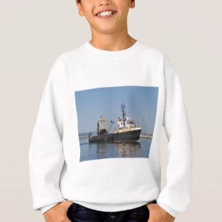 Rust Streaked Fishing Boat Sweatshirt