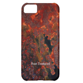 Rust Textured Cover For iPhone 5C