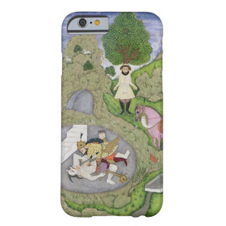 Rustam killing the White Demon, illustration from Barely There iPhone 6 Case