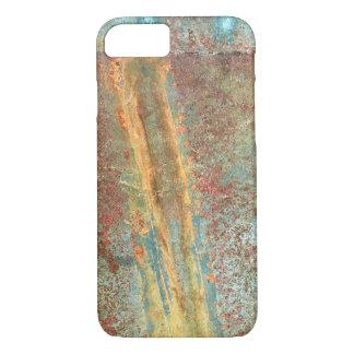 Rusted copper phone case
