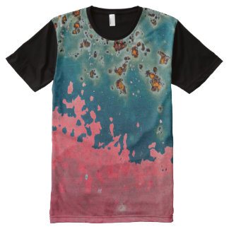 Rusted Grunge Ludi Barrs Original Designs! All-Over Print T-Shirt