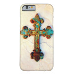 Rusted Iron Cross iPhone 6 case Barely There iPhone 6 Case