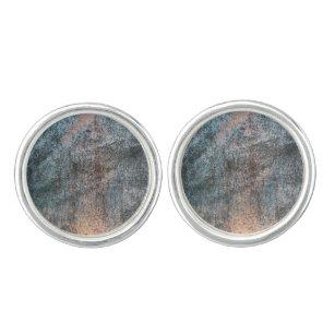 Rusted Iron Texture Pattern 1 Cufflinks