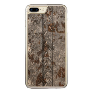 Rusted Metal Carved iPhone 8 Plus/7 Plus Case