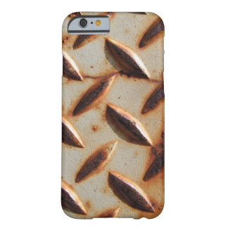 Rusted Metal Diamond Plate Barely There iPhone 6 Case