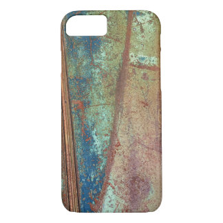 Rusted metal phone case