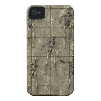 Rusted Metal With Skeletons iPhone 4 Case-Mate Case