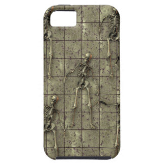 Rusted Metal With Skeletons iPhone 5 Cases
