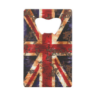 Rusted Patriotic United Kingdom Flag