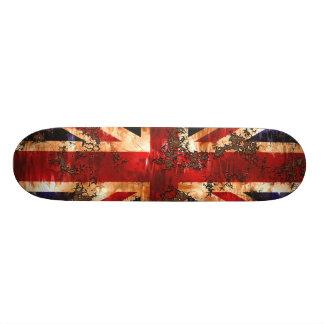 Rusted Patriotic United Kingdom Flag Skateboard Decks