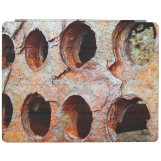 Rusted Perforated Metal iPad Cover