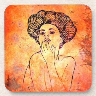Rusted Portrait Coaster