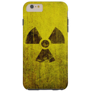 Rusted Radioactive Symbol Tough iPhone 6 Plus Case