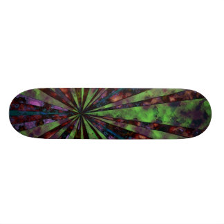 Rusted Rays Skateboard Deck