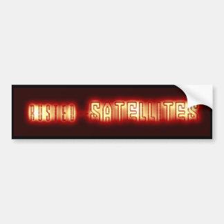 Rusted Satellites Bumper Sticker