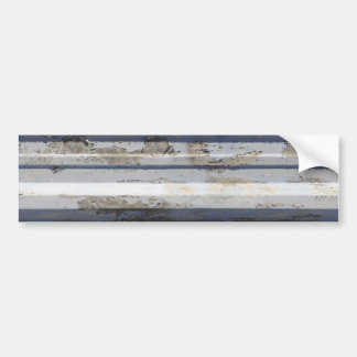 Rusted sheet iron bumper stickers