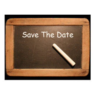 Rustic 50th Birthday Save The Date - Customizable Postcard