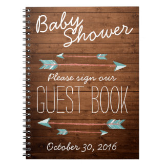 Rustic Adorned with Arrows | Guest Book
