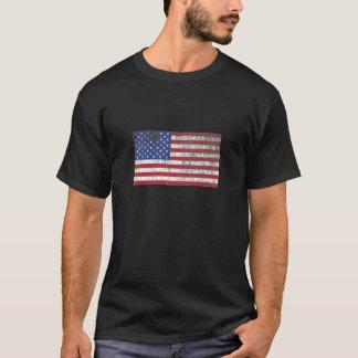 Rustic American Flag T-Shirt