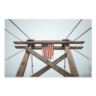 Rustic American History Photographic Print