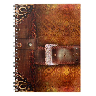 Rustic Antique Ancient Tome Faux Leather Notebook