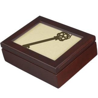 Rustic Antique Key Keepsake Box